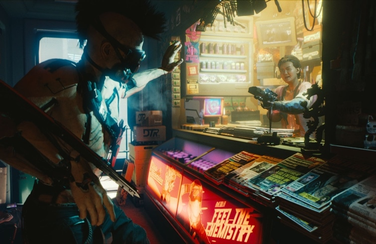 Primer trailer de Cyberpunk 2077