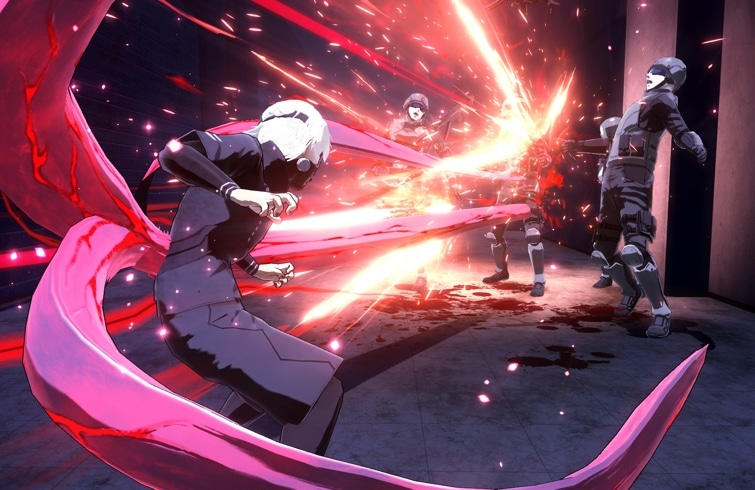 TOKYO GHOUL:re CALL to EXIST llegará a Occidente