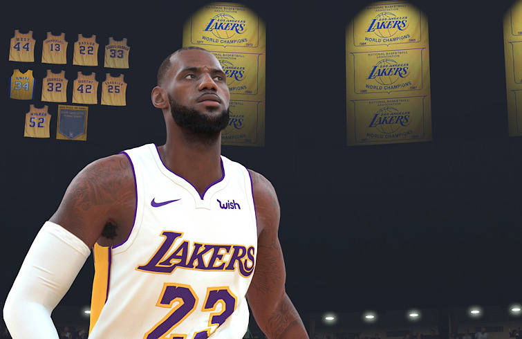 NBA 2K20 LeBron James