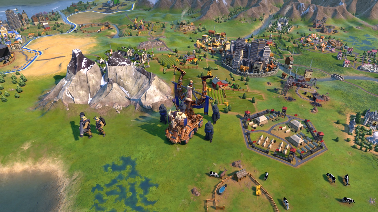 Civilization VI - New Frontier Pass - Maya & Gran Colombia Pack - Apocalypse Mode Soothsayer Unit