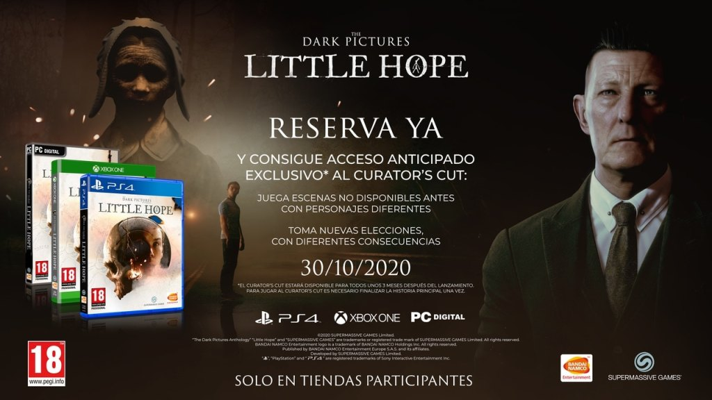 The Dark Pictures: Little Hope - Reserva