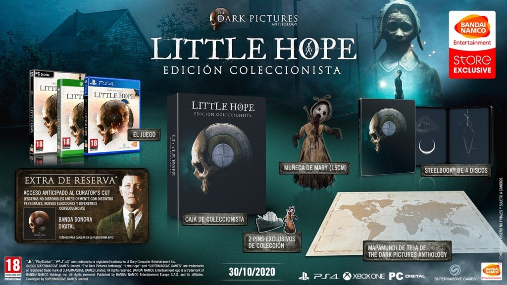 The Dark Pictures: Little Hope - Edición Coleccionista