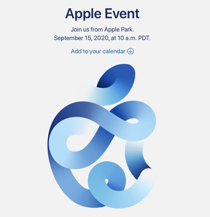 Apple Event 2020 - Invitación