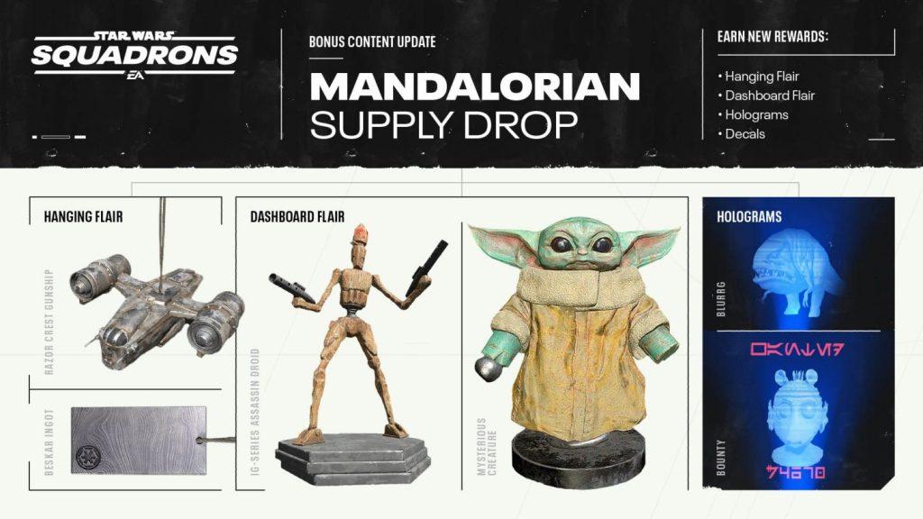 Star Wars: Squadrons - The Mandalorian set