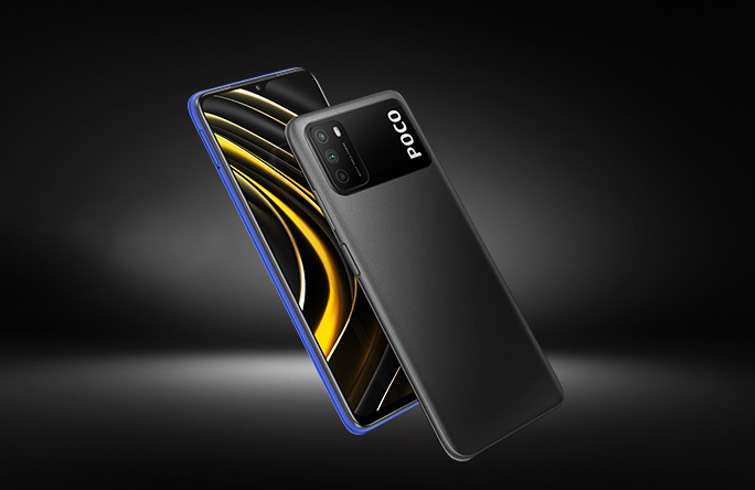 Poco M3 - Front and back