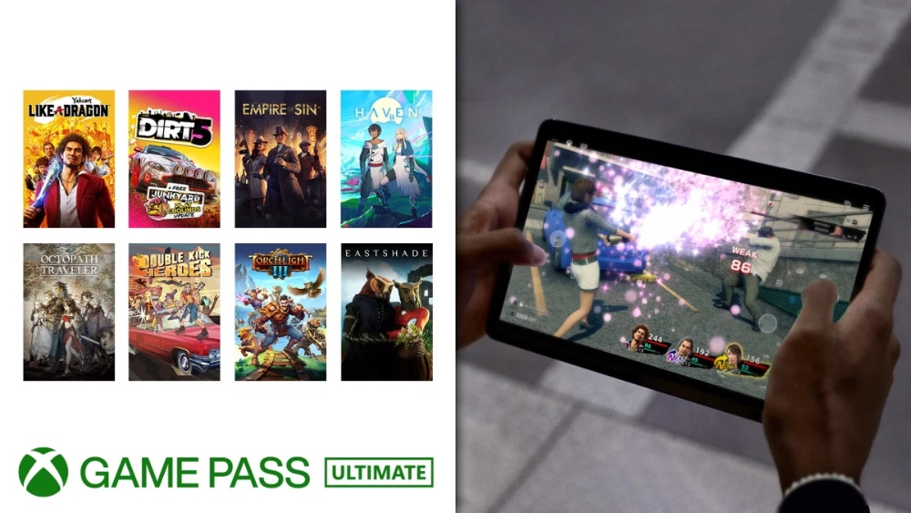 Xbox Game Pass- Touch control junio 2021