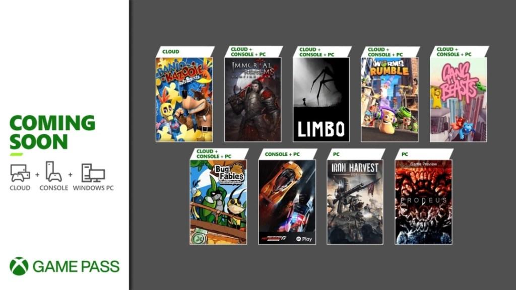 Xbox Game Pass - Junio-Julio 2021