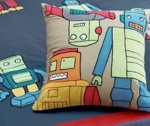 Hiccups for Kids Kussenhoes Retro Robots