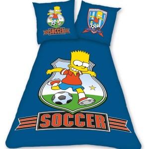 Bart Simpson Voetballer Beddengoed