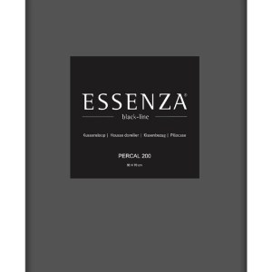 Essenza Kussensloop Percal Steel Grey (1 stuk)