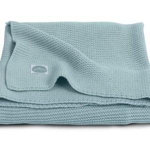 Jollein Deken 75x100cm Basic knit Stone Green