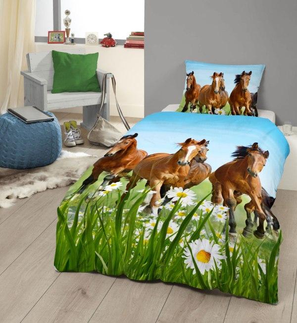 Kinderdekbedovertrek Horses