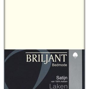 A-Keuze - Briljant Lakens Satin Ecru-200 x 270 cm