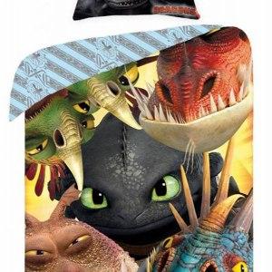 Dekbedovertrek Dragons Selfy