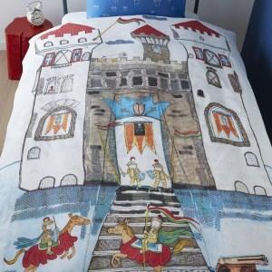 Beddinghouse Kinderdekbedovertrek Knight Castle