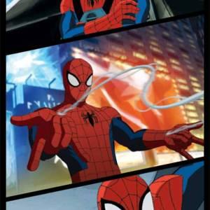 Strandlaken Spiderman Power