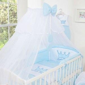 3-Delig Bedset Little Prince Voile Blauw