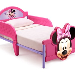 Minnie Mouse Junior Bed 3-D