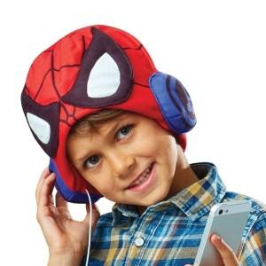 Hoofdtelefoon Muts voor Kinderen Spiderman