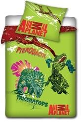 Animal Planet Dekbedovertrek Dino Groen