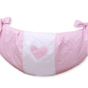 My Sweet Baby Speelgoedzak Two Hearts Dots/Roze