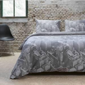 Sleeptime Elegance Botanic Wave Lits-jumeaux (240 x 220 cm + 2 kussenslopen) Dekbedovertrek