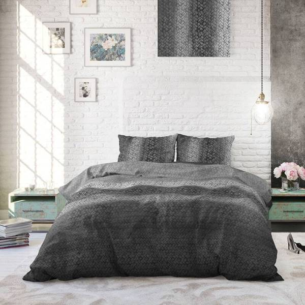 Heckett Lane Hoeslaken Percale - Wit 80 x 200 cm