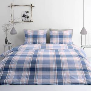 DreamHouse Bedding 2-PACK Verkoelende Hoeslakens Katoen - Antraciet 180 x 200