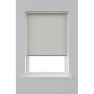 Decosol Rolgordijn Lichtdoorlatend Structuur - Licht Grijs 60 x 190 cm