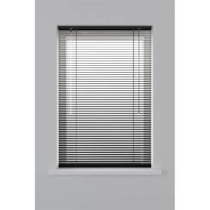 Decosol Horizontale Jaloezie Aluminium - 25 mm - Zwart 60 x 130 cm