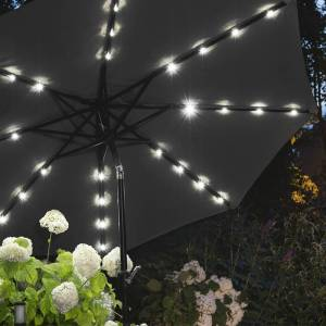 909 Outdoor Tuin Parasol - Zwart