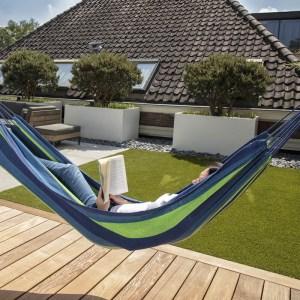 909 Outdoor Hangmat - Groen/Blauw