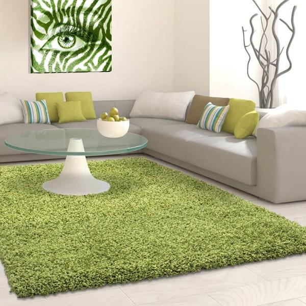 Vloerkleed - Antalya - Rechthoek - Groen Life Effen 60 x 110 cm - Ga naar Dekbed-Discounter.nl & Profiteer Nu