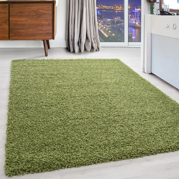 Vloerkleed - Kaapverdië - Rechthoek - Groen Dream Effen 60 x 110 cm - Ga naar Dekbed-Discounter.nl & Profiteer Nu