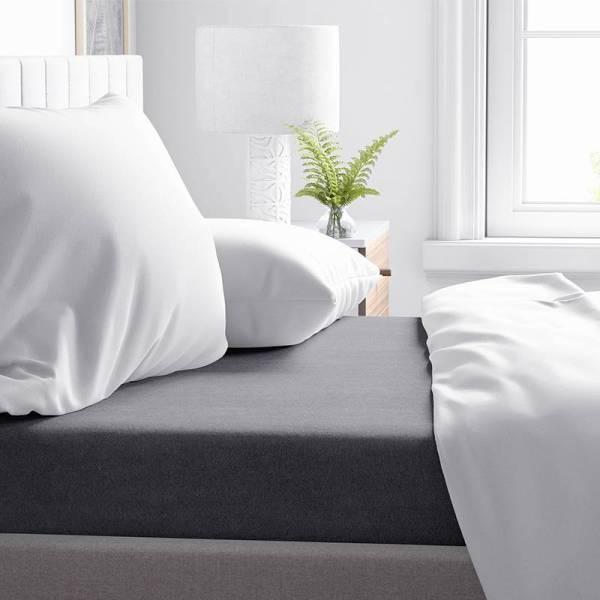 Verwarmend Laken Flanel - Antraciet DreamHouse Bedding 75 x 100 cm - Ga naar Dekbed-Discounter.nl & Profiteer Nu