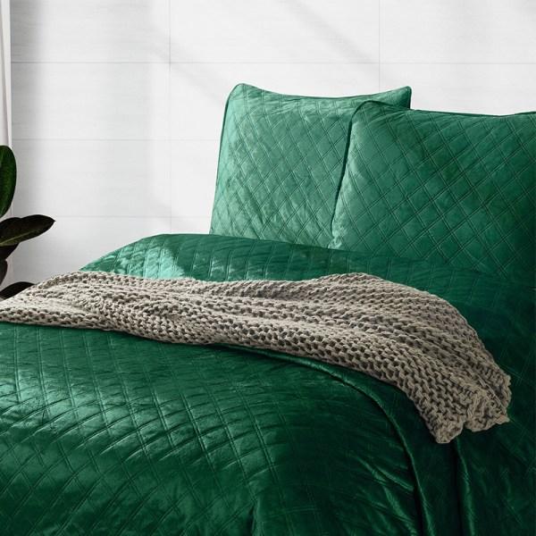Bedsprei Classico - Groen DreamHouse Bedding Patroon 180 x 250 cm - Ga naar Dekbed-Discounter.nl & Profiteer Nu