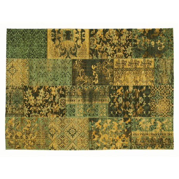 Dekbed Discounter Vloerkleed Alanis Allover - Groen 80 x 250 cm