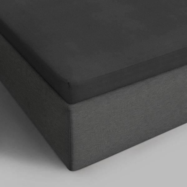 DreamHouse Bedding Verkoelend Katoenen Topper Hoeslaken - Antraciet 90 x 220