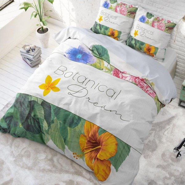 DreamHouse Bedding Botanical Dream - Multi 2-persoons (200 x 220 cm + 2 kussenslopen) Dekbedovertrek