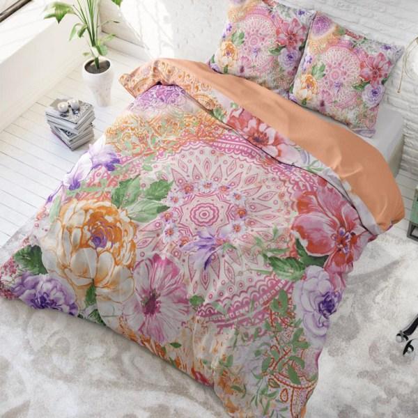 DreamHouse Bedding Fleurop Multi 2-persoons (200 x 220 cm + 2 kussenslopen) Dekbedovertrek