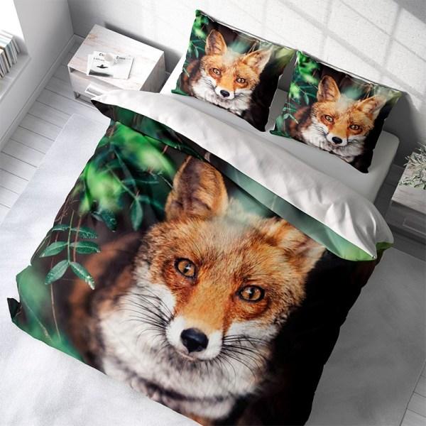 DLC Mr. Fox Lits-jumeaux (240 x 220 cm + 2 kussenslopen)