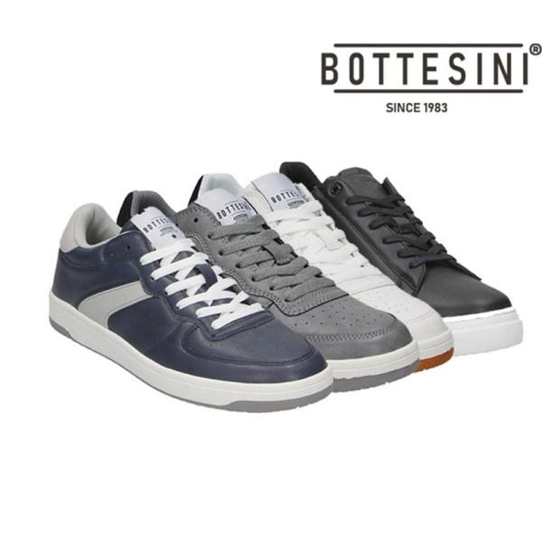 Bottesini Heren Sneaker Sportief - Bottesini Kleur: Blauw/Wit
