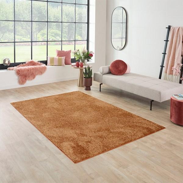 Vloerkleed Santa Fe - Indian Olive Effen 57 x 150 cm - Ga naar Dekbed-Discounter.nl & Profiteer Nu