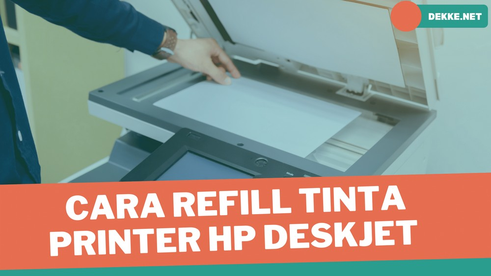 Cara Refill Tinta Printer HP Deskjet 1112 Dengan Suntikan