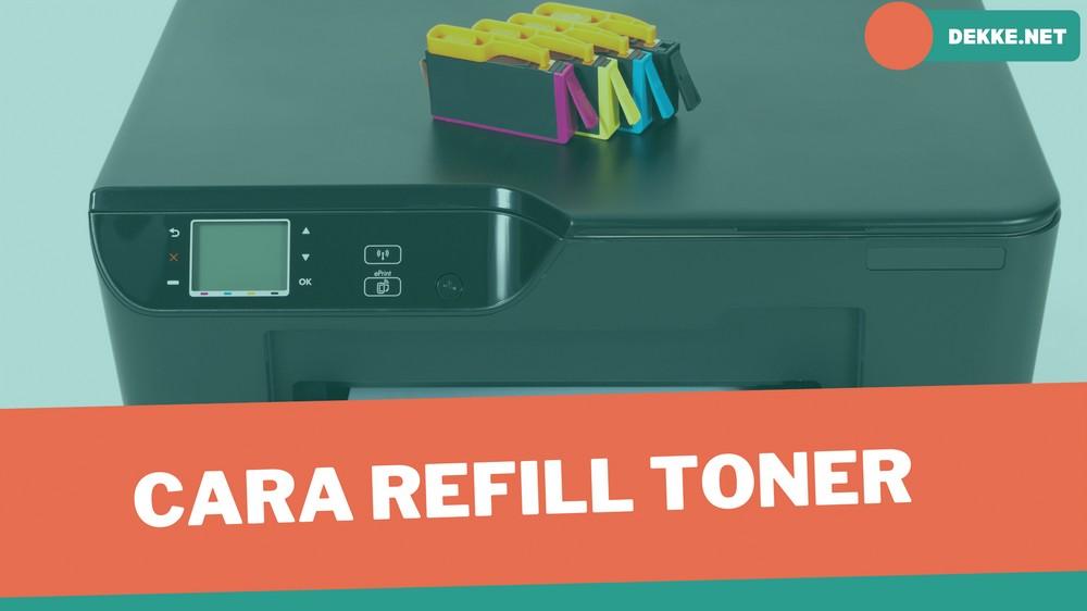 Cara Refill Toner