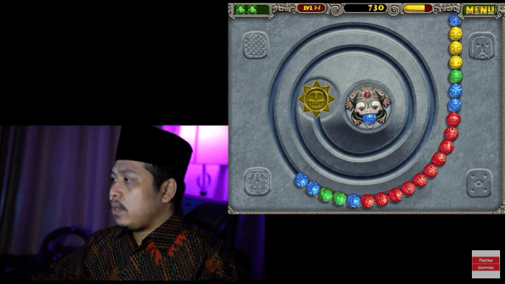 Tretan Muslim Main game zuma 1