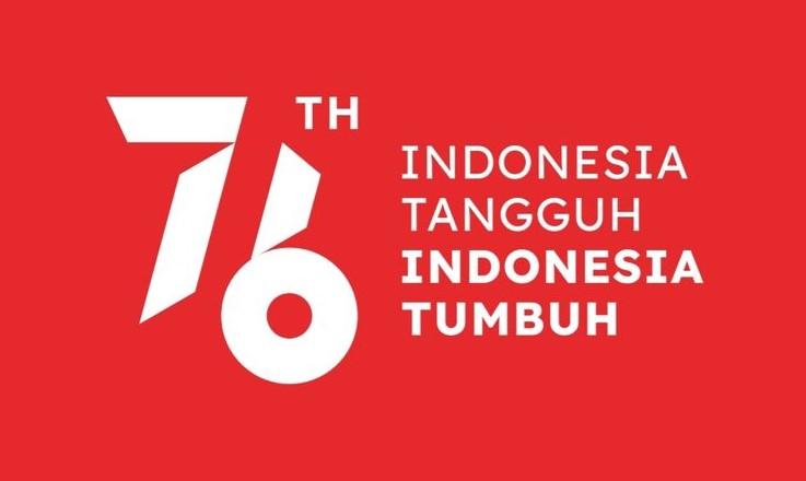 logo dan makna HUT RI ke76
