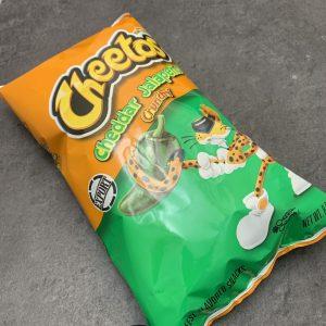 Cheetos Flamin' Hot Cheddar Jalapeno