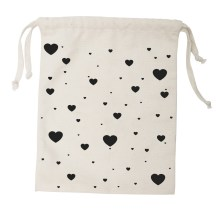 Tellkiddo – Fabric Bag Heart Small