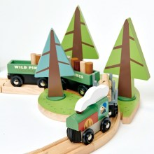 Tender Leaf Toys – Treinenset Tree Tops
